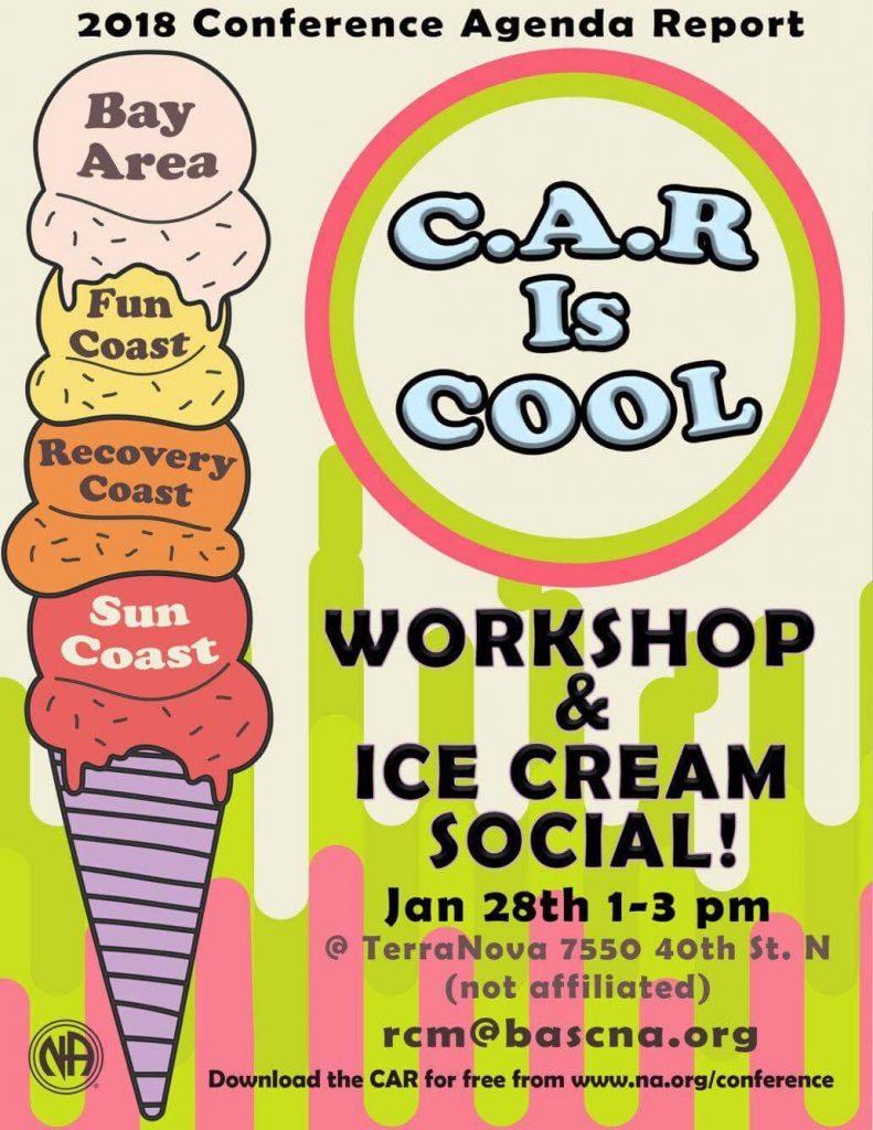 C.A.R. Workshop & Ice Cream Social