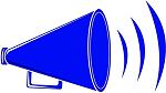 clipart megaphone - left