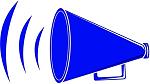 clipart megaphone - right